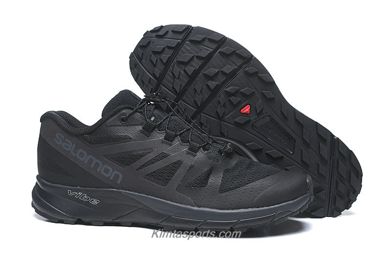 Salomon Sense Ride GTX Invisible Fit Heren Zwart Trail Hardloop Schoenen